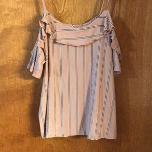 American Eagle Tank with Halter Sleeves